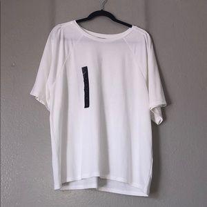 NWT Banana Republic Factory Plain White T Shirt